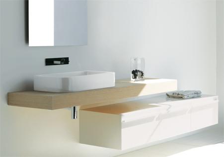 Sdr ceramiche lavabo qube effe emme due - Due emme mobili ...