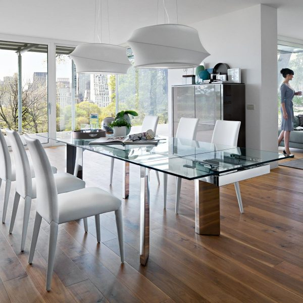 Tavolo towe wood calligaris effe emme due - Due emme mobili ...