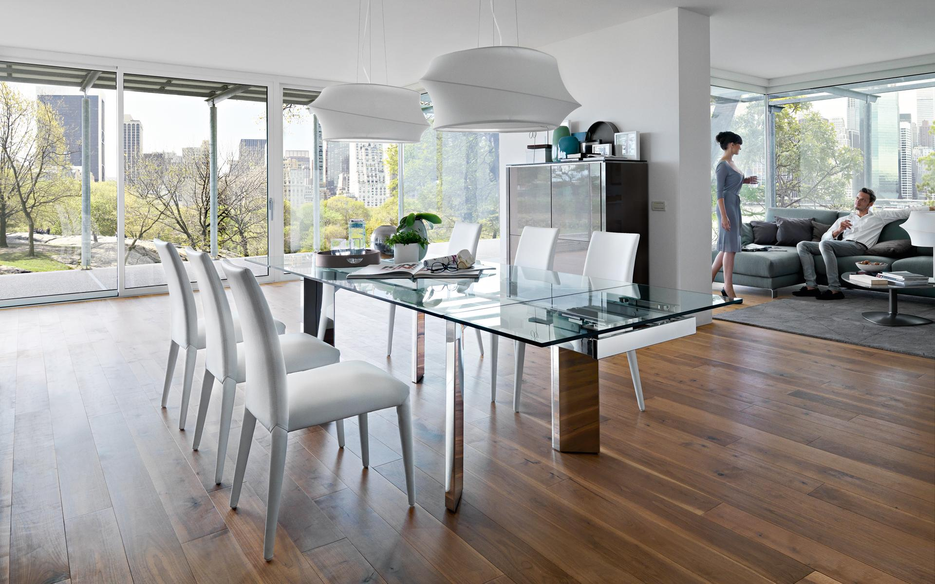 Tavolo towe wood calligaris effe emme due for Mobili calligaris