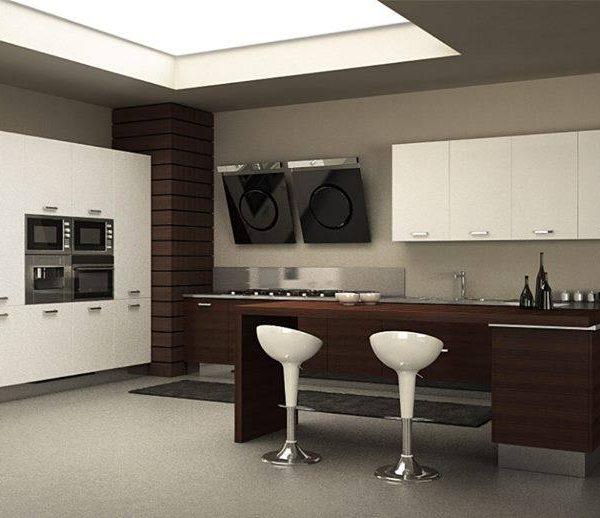 Best cucina bianca e nera photos ideas design 2017 - Camera bianca e nera ...