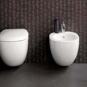 Pozzi Ginori vaso a bianco